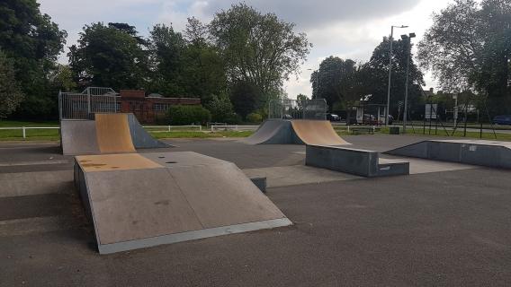 Alexandra Palace Skatepark (Ally Pally)