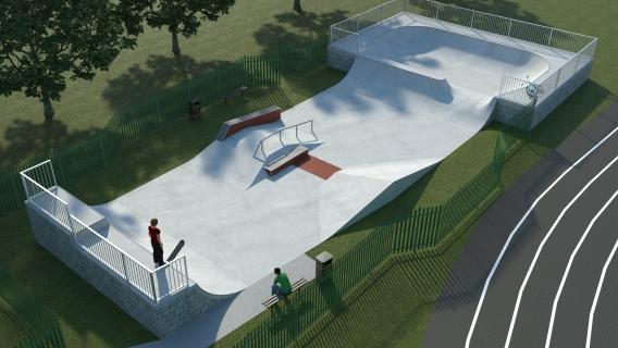 Pinkwell Park Skatepark