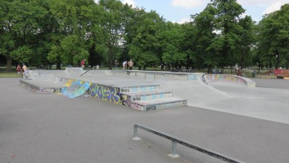Clapham Common Skatepark