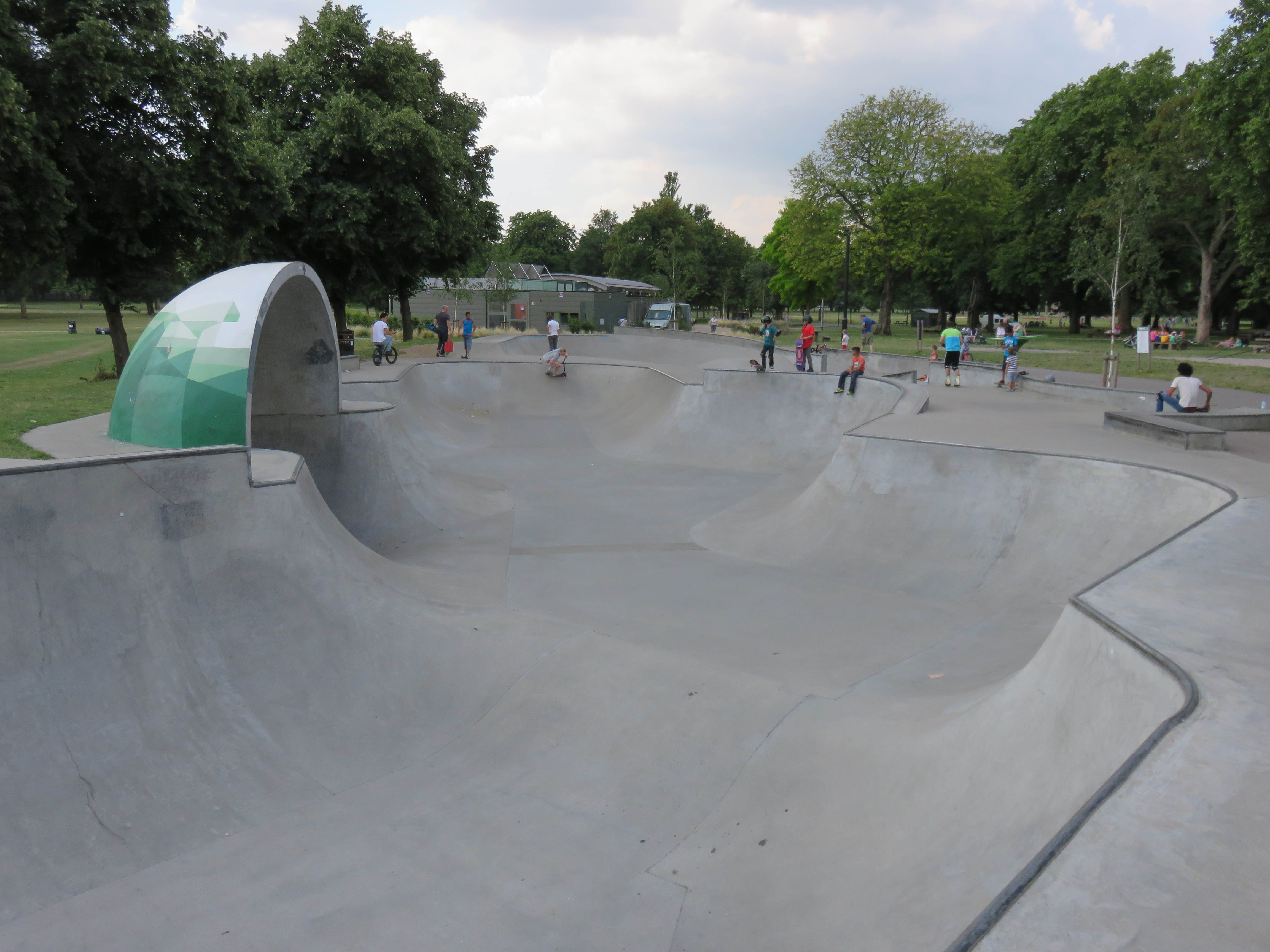 Guide To Victoria Park Skatepark East London