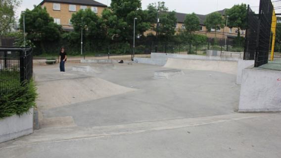Frontside Gardens Skatepark