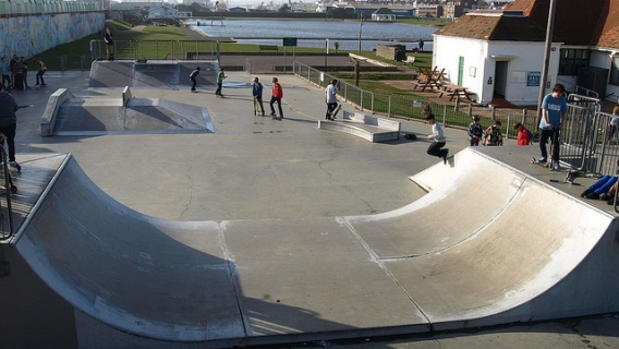 indoor skate parks east sussex
