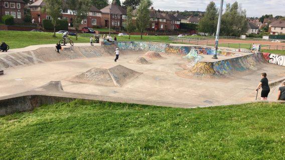 Meersbrook Park Skatepark