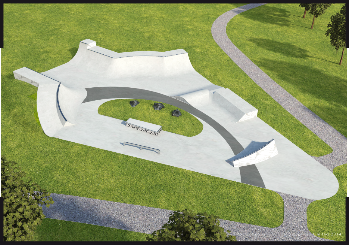 Guide to cherry hinton skatepark for Indoor skatepark design uk