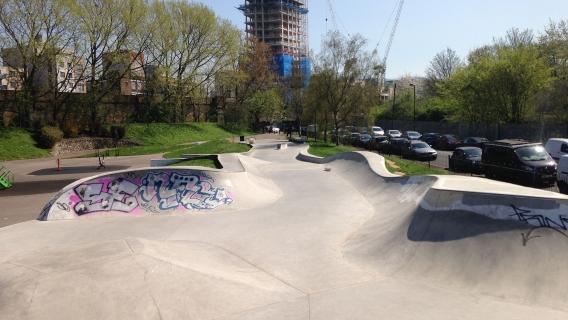 Beckenham Place Park BMX Track