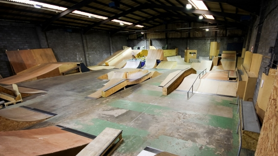 Indoor Skateparks
