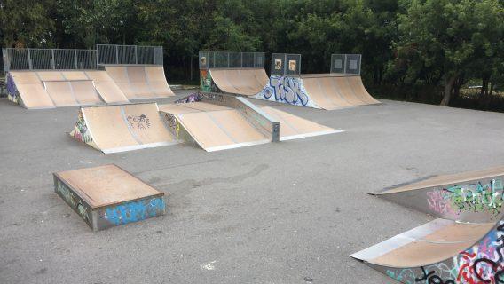 St Ives Skatepark (Cornwall)