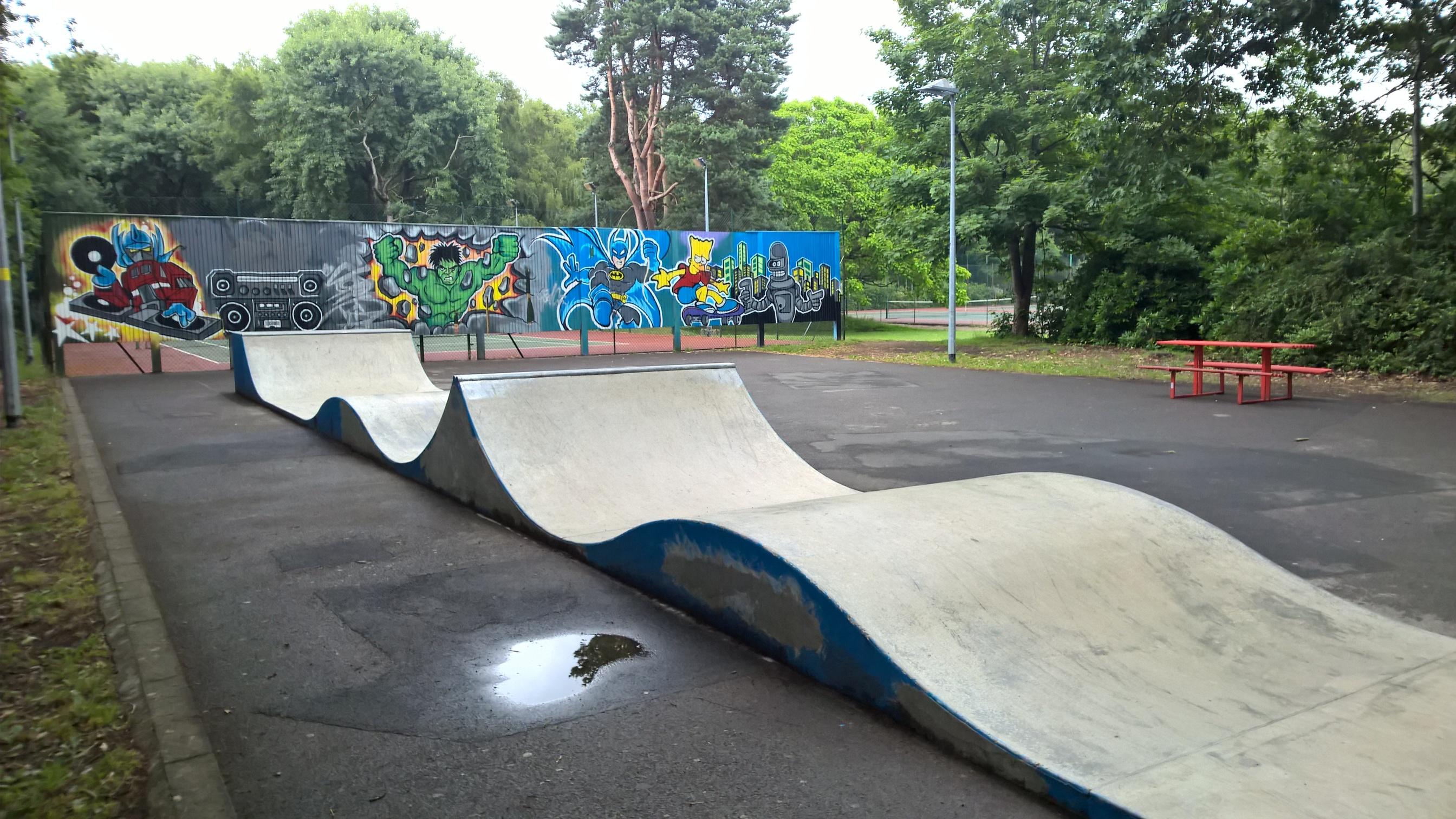 Portable Skate Park Equipment : Guide to ash vale skatepark