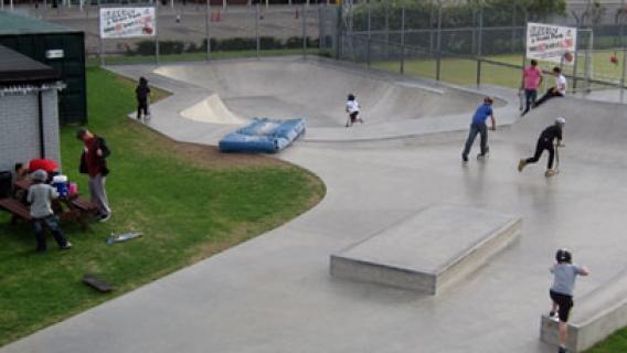 Moat Gardens Skatepark