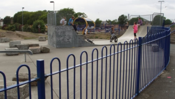 Beachfields Skatepark (Sheerness)