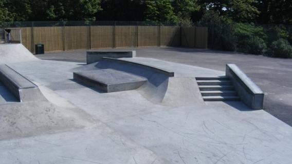 Hampden Park Skatepark
