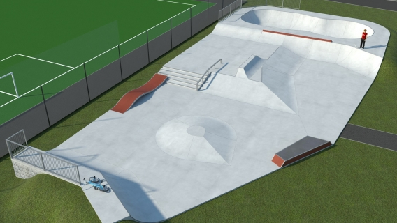 Greenock Battery Park Skatepark