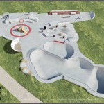 Peacehaven skatepark layout