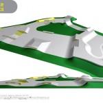 Bourne Skatepark design