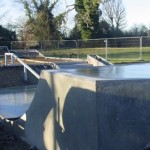 Newly completed Pocklington Skatepark