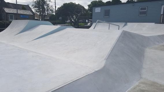 St Dennis Skatepark
