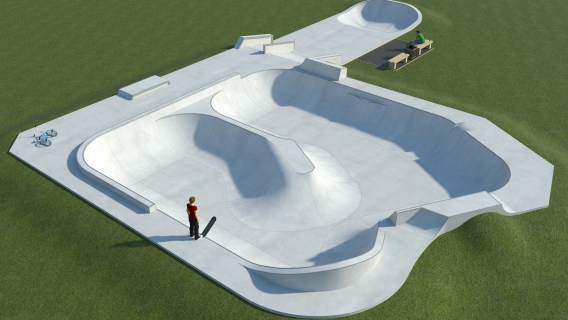 Amesbury Kings Gate Skatepark