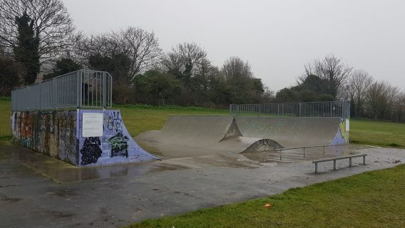 Grove Park Skate Ramp