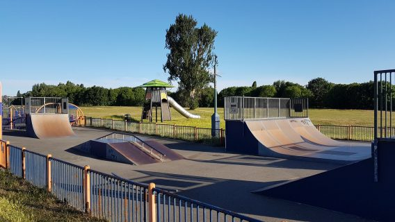 East Wickham Open Space Skatepark